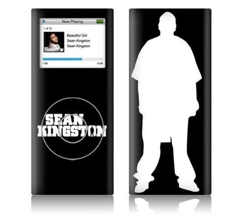 Zing Revolution Ms-Sk30131 Ipod Nano- 2Nd Gen- Sean Kingston- Logo Skin front-191084