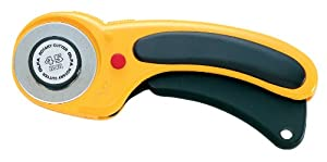 OLFA 9654 RTY-2/DX 45mm Ergonomic Rotary Cutter
