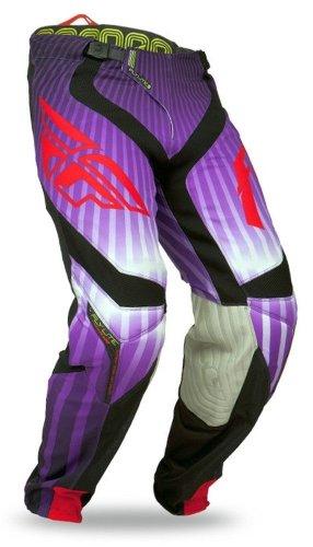 2014 Fly Lite Hydrogen Motocross Pants Short - Purple - 28 - Short
