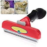 5 Inch Edge Shedding Tool Long Hair Cleaning Brush for Giant Dog