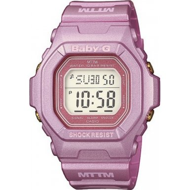 Casio BG-5600MOB-4ER Ladies Baby-G Digital Watch