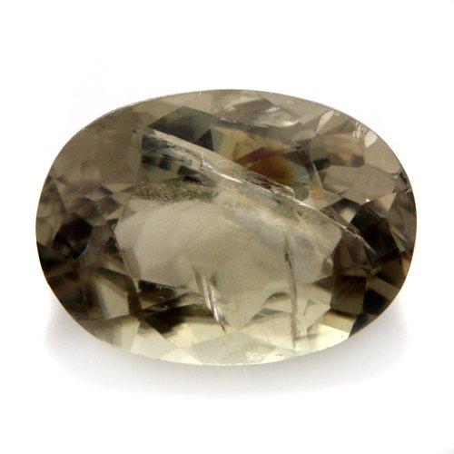 Natural Africa Green Diaspore Gemstone Oval Cut 1.95cts 9*6mm Stunning I Grade