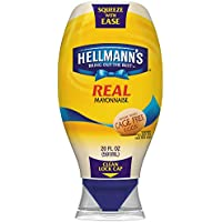 3-Pk. Hellmanns Real Mayonnaise 20-oz. Squeeze Bottle