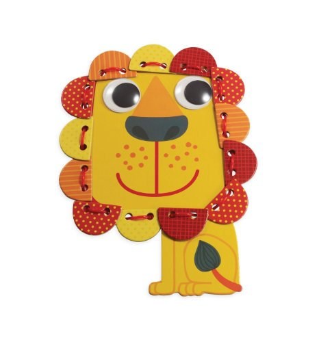 "Manhattan Toy ""Imagine I Can..."" Lace & Play Kit, Lion"