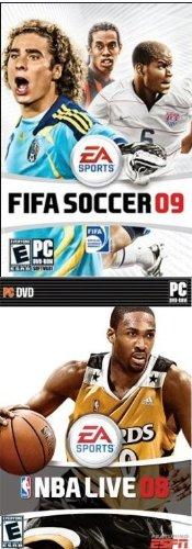 Sports Pack: NBA Live 08 + FIFA Soccer 09