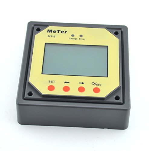 Samyo Mt5 Digital Remote Meter Lcd Display With 2 Meters Cable For Solar Controller Regulator Tracer - Rn Series