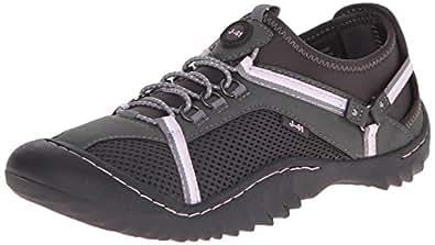 J-41 Women's Tahoe Walking Shoe, Charcoal Pink, 6 M US