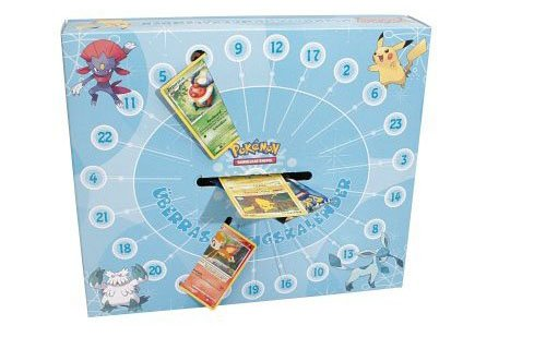 amigo pokemon diamant pearl adventskalender. Black Bedroom Furniture Sets. Home Design Ideas