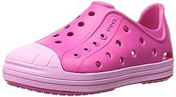 crocs Kids\' Bump It Shoe (Toddler/Little Kid), Candy Pink/Carnation, 7 M US Toddler