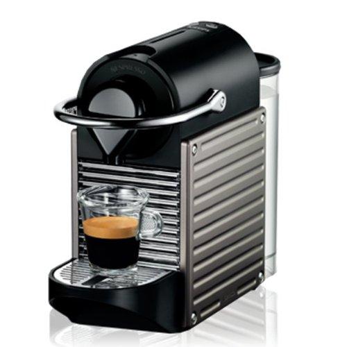 Cafetera Nespresso Pixie Titan Krups, monodosis de 19 bares