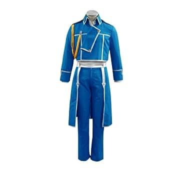 Fullmetal Alchemist Cosplay Costume - Roy Mustang Kid Large