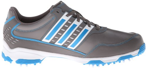 Adidas  Traxion Men S Golf Shoe White Blue