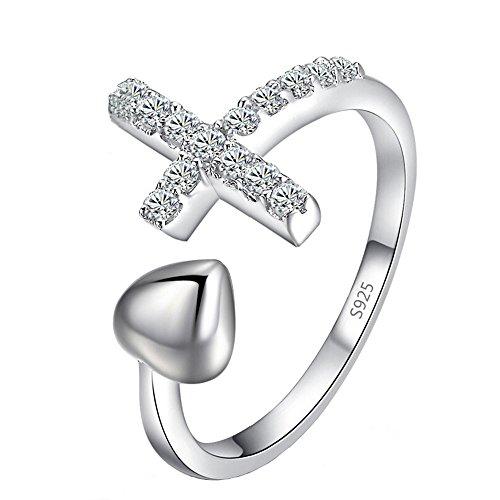vendita-calda-personalita-classico-lusso-argento-rhinestone-cuore-croce-regalo-per-lamica-aperto-reg