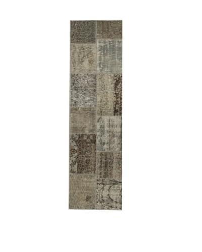 Design Community By Loomier  Tappeto Anatolian Patchwork Mint Grey