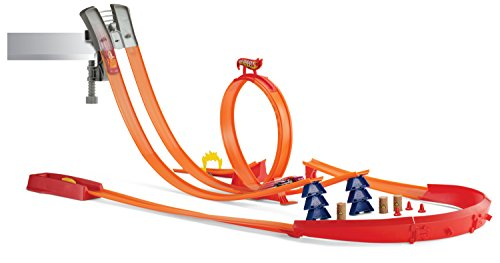 Mattel Hot Wheels Y0276 - Super Track Pack Rennbahn, inklusive 1 Fahrzeug