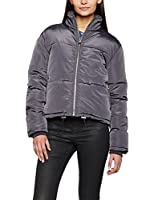 New Look Chaqueta Chapel Short Padded Puffer (Grau (Dunkelgrau))