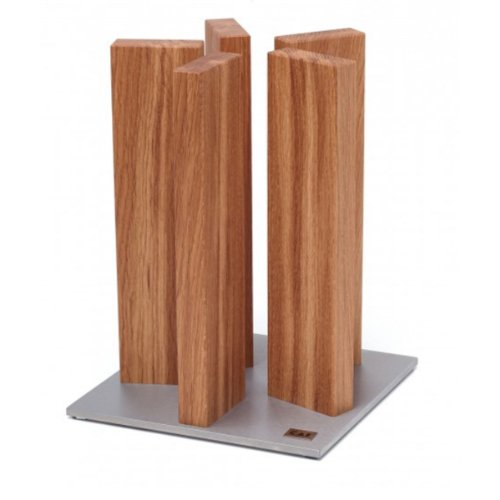 Kai Stonehenge magnetic Knife Block Oak STH-3