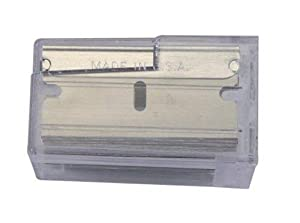 Stanley 11-515 1-1/2-Inch Single Edge Razor Blades, 100 per-Pack