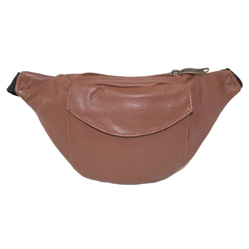 Winn-Top-Grain-Leather-Fanny-Pack-Black-Brown-Cognac