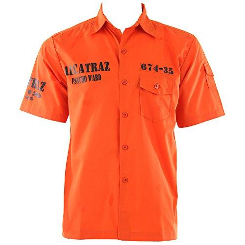 Camicia Alcatraz Banned (Arancione) - XX-Large