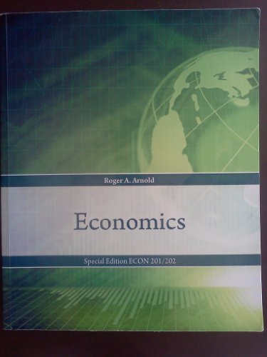 econ 202 Econ 202/2011 - introduction to microeconomics (3 cr) description  fundamental economic concepts and methods of economic analysis with  emphasis on.