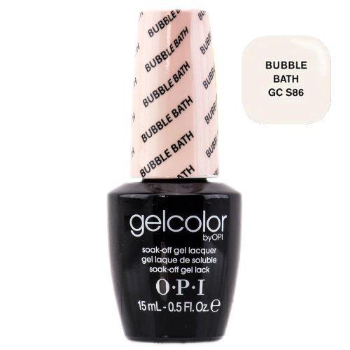 opi gelcolor nail polish gcs86 bubble bath 0 5 fluid ounce by opi list