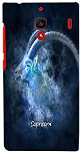 PrintVisa Zodiac Capricorn Case Cover for Xiaomi Redmi