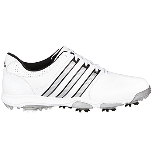 Adidas Golf Mens Tour360 X Waterproof Golf Shoes - US 8.5 Wide - White