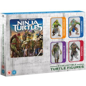Teenage Mutant Ninja Turtles - Limited Edition Figure Pack Blu-ray