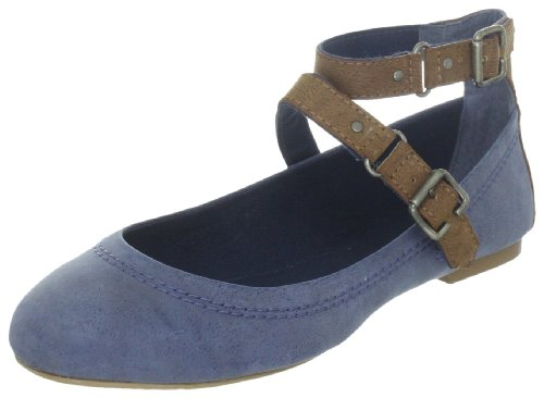 ESPRIT Rina Ankle D05636, Damen Ballerinas, Blau (dress blue 407), EU 40 thumbnail