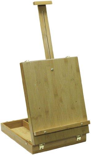 Art Advantage Bamboo Sketch Box Table Easel