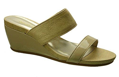 David Tate Charlotte Womens Sandals, Nude Vintage Goat, Size - 9WW