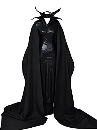 Maleficent Cosplay Costume & hat mp001529