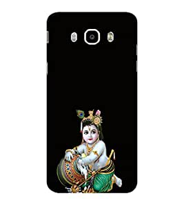 ifasho Lord Krishna stealing curd Back Case Cover for Samsung Galaxy On8