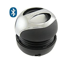 Xtra Mini Portable Bluetooth Speaker/Handsfree Sphere (BLACK) for smartphone, laptop, iPhone, iPod