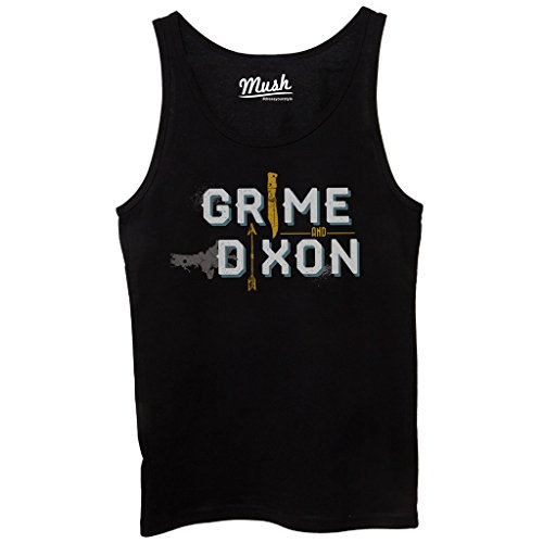 Canotta WALKING DEAD GRIME AND DIXON - FILM by Mush Dress Your Style - Donna-M-Nera