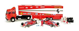 「BRUMM」 Ferrariトランスポーターセット(126Ck/27&28号車) 1:43