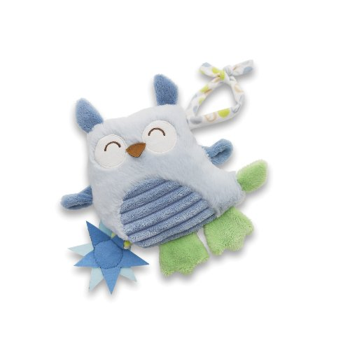 Nat and Jules Pull Down Plush Toy, Ollie Owl Musical (Discontinued by Manufacturer)