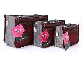Periea Handtaschen-Organiser Geldbeutel-Einsatz 12 Fächer 20 Farben - Chelsy