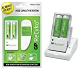 AR07 - GP ReCyko 5 Hour Mobile Power Battery Charger & 2 x Rechargeable Batteries - PSP Nintendo DS Nokia Samsung Sony Ericsson Motorola