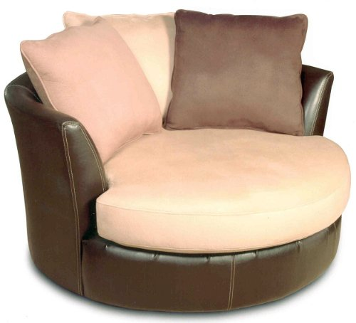 round swivel chair best deals online laredo mocha round swivel