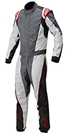 Alpinestars (3353012-149-54) Anthracite/Silver/Red Size-54 K-MX 5 Kart Suit