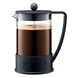 12 Cup Coffee Maker Equals How Many Ounces : Amazon.com: Bodum Brazil French Press Coffee Maker, 12-Cup, 1.5 L, 51-Ounce, Black: French Press ...