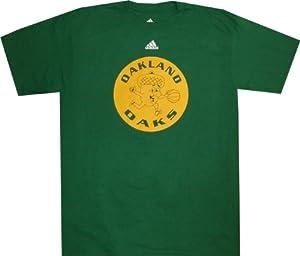 Oakland Oaks Vintage Logo Adidas ABA T Shirt by adidas