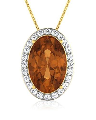 Art Of Diamond Collana Citrine Yellow Gold