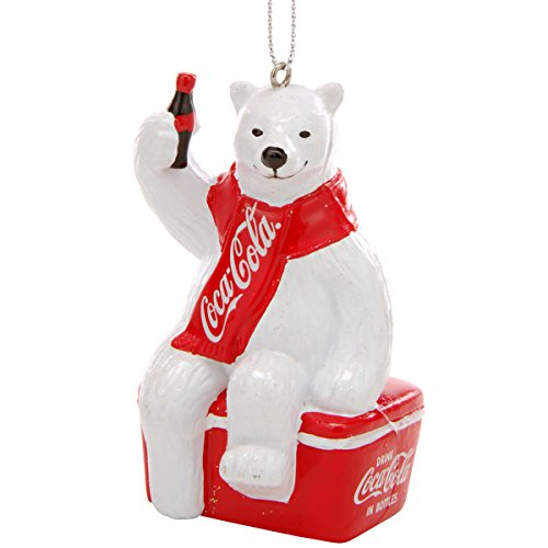 "Kurt Adler 3.5"" Coca-cola Polar Bear ON CO - 1"
