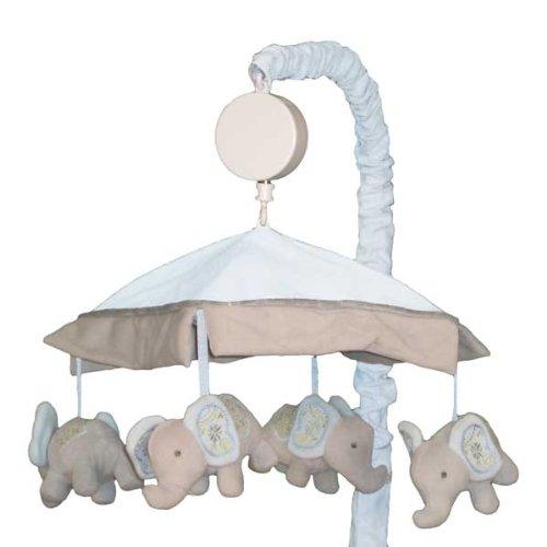 Blue Elephant Bedding front-612806