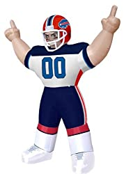 Huge 8' NFL Buffalo Bills Standing Inflatable Football Player Outdoor Decoration
