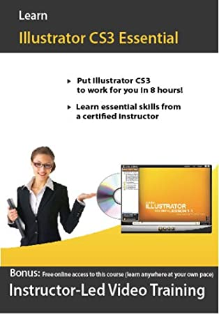 Adobe Illustrator CS3 Video Training Course for Beginner