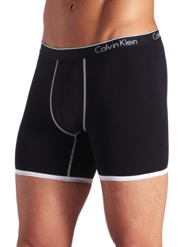 ck one Men's Micro Boxer Brief, Black, Medium